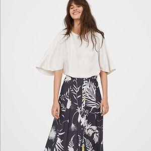 ANNA GLOVER x H&M Long Circle Skirt